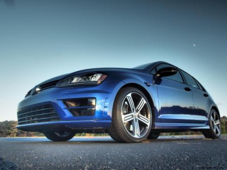 2016 VW Golf R Lapiz Blue by Lyndon Johnson 33