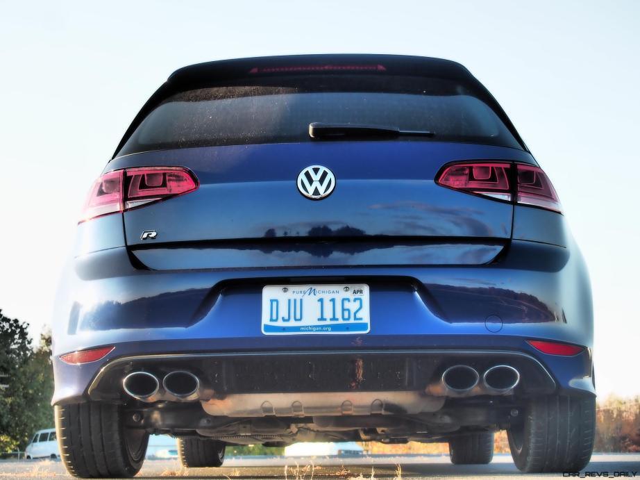 2016 VW Golf R Lapiz Blue by Lyndon Johnson 7