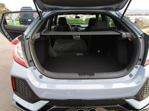 2017 Honda CIVIC Sport Hatchback Cargo Area 8