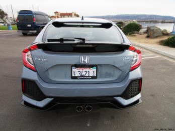 2017 Honda Civic Sport 5-Door 10