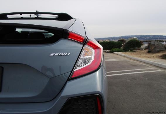 2017 Honda Civic Sport 5-Door 6