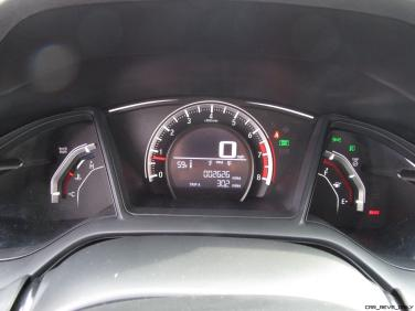 2017 Honda Civic Sport 5-Door INTERIOR PHOTOS 10