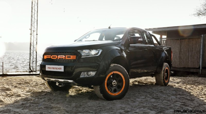 2017 Ford Ranger By MR Car Design 7