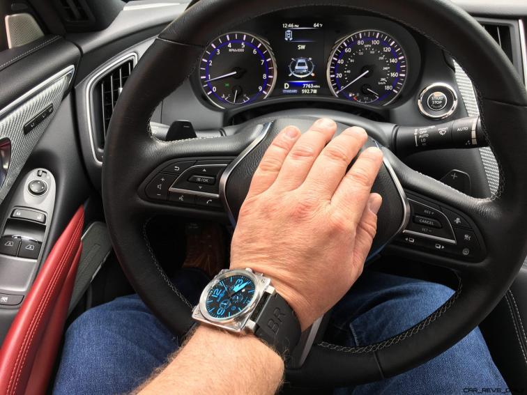 2017 INFINITI Q60 Red Sport 400 - Interior Photos 1