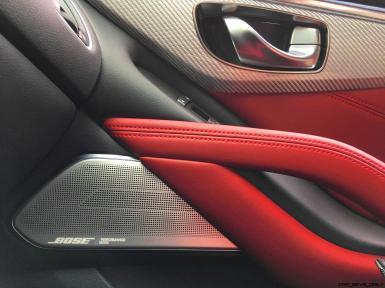 2017 INFINITI Q60 Red Sport 400 - Interior Photos 12