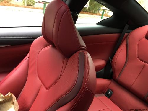 2017 INFINITI Q60 Red Sport 400 - Interior Photos 7