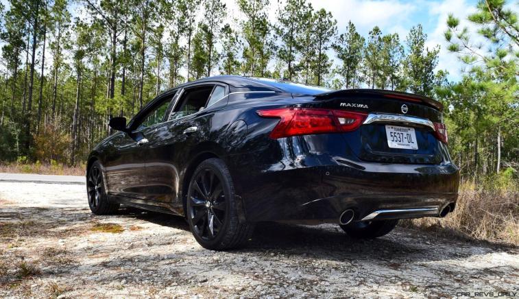 2017 Nissan Maxima SR Midnight Edition 21