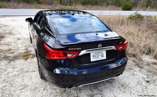 2017 Nissan Maxima SR Midnight Edition 28
