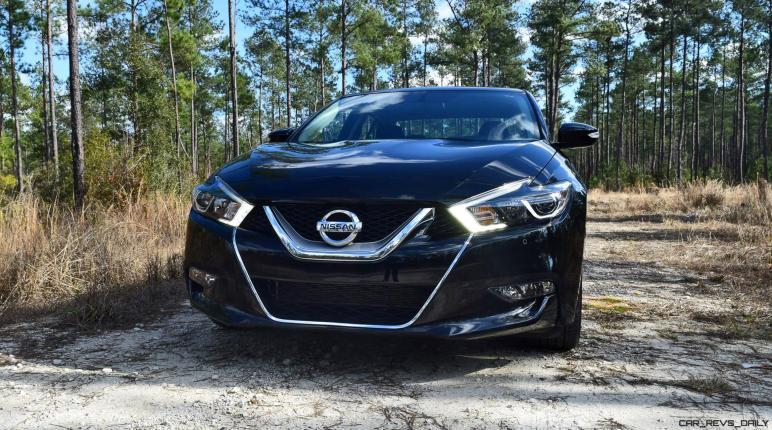 2017 Nissan Maxima SR Midnight Edition 3