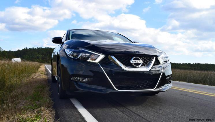 2017 Nissan Maxima SR Midnight Edition 35