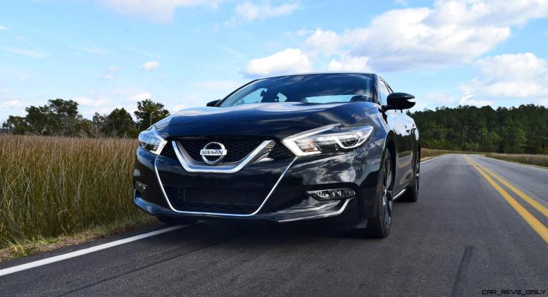 2017 Nissan Maxima SR Midnight Edition 36