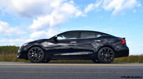 2017 Nissan Maxima SR Midnight Edition 41