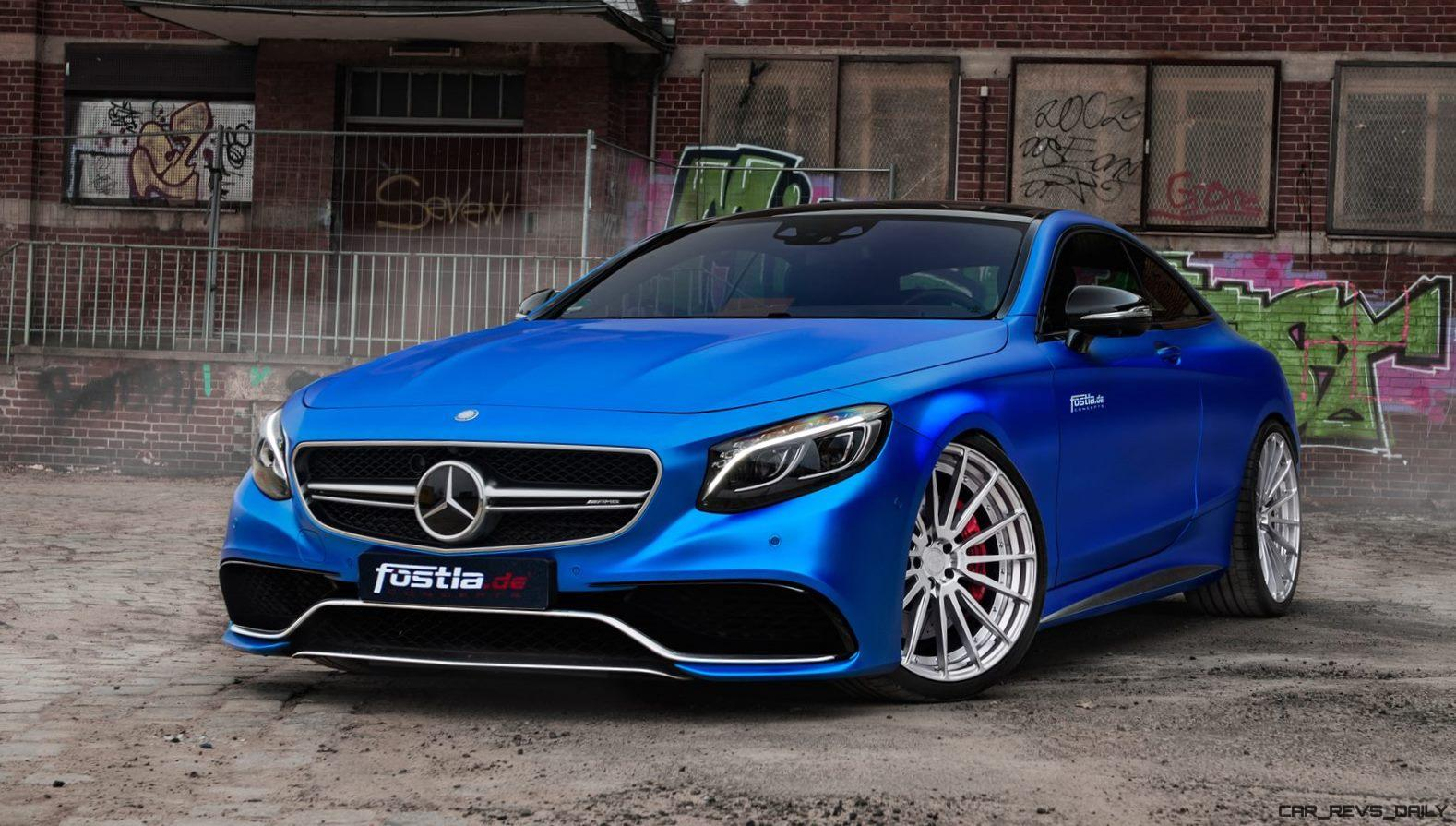 2017 Mercedes AMG S63 Coupe By FOSTLAde Is Dripping Blue