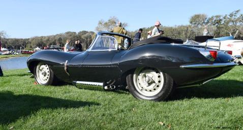 1957 Jaguar XKSS 716 at Amelia Island Concours 23