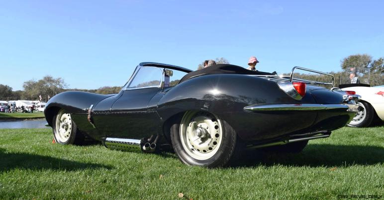 1957 Jaguar XKSS 716 at Amelia Island Concours 24