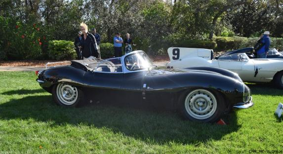 1957 Jaguar XKSS 716 at Amelia Island Concours 36