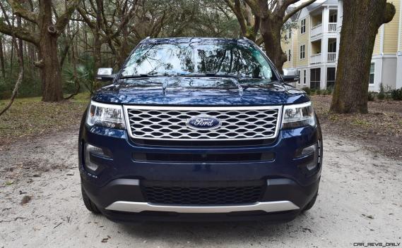 2017 Ford Explorer PLATINUM Exterior 10