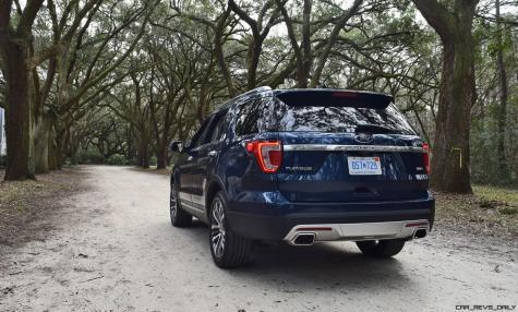 2017 Ford Explorer PLATINUM Exterior 17