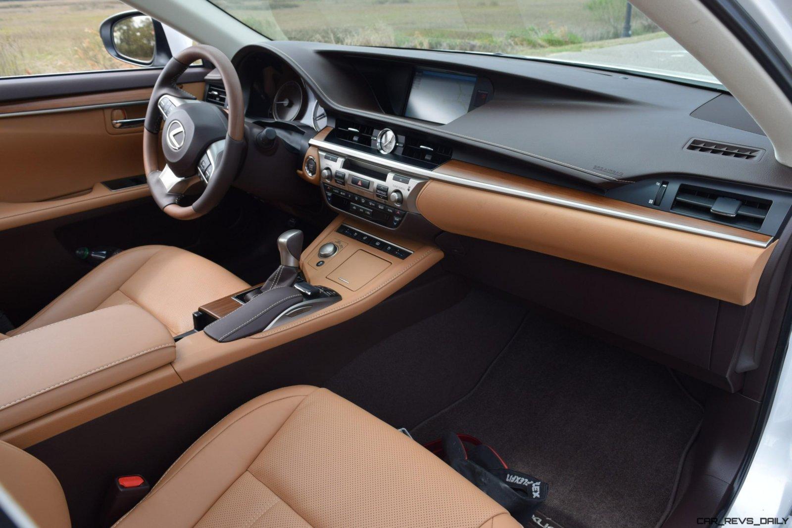 2017 Lexus ES350 HD Road Test Review w 2 Videos By Tom Burkart