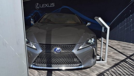 2018 Lexus LC500h Exterior Amelia 16
