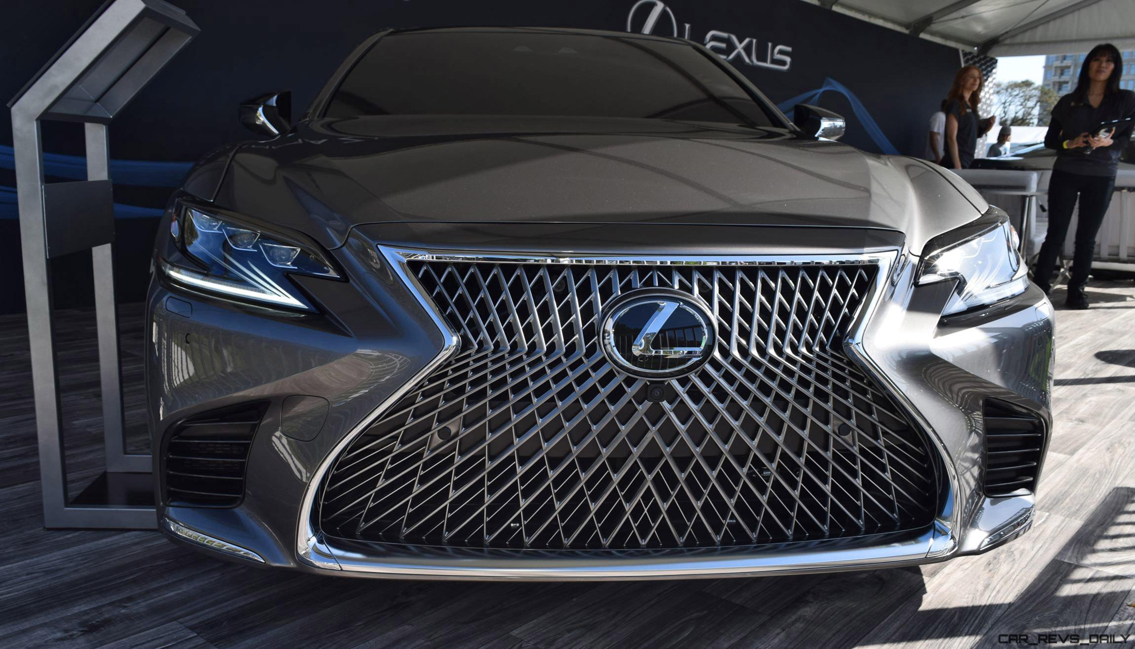 Design Analysis 2018 Lexus LS500 at Amelia Island Concours [23