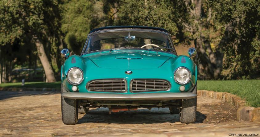 1957 BMW 507 Roadster Series I - RM Sotheby's Villa Erba 2017 9