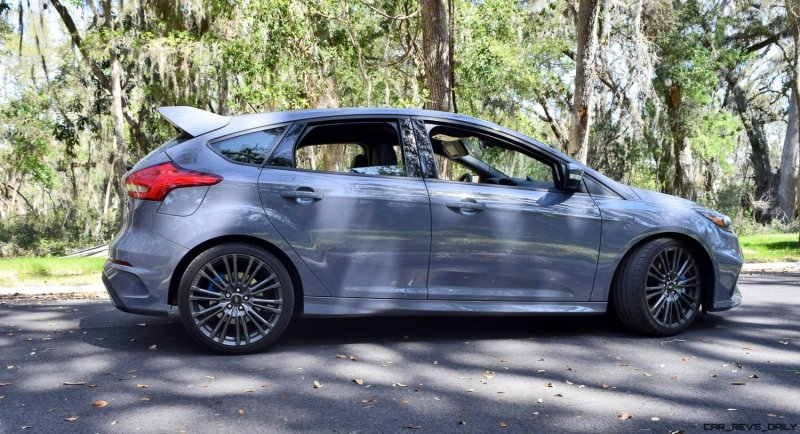 2017 FORD FOCUS RS Stealth Grey 14