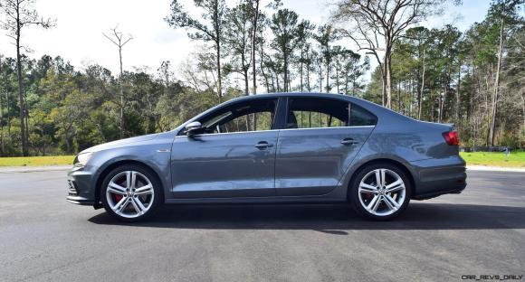 2017 VW Jetta GLI DSG Automatic - HD Road Test Review 13