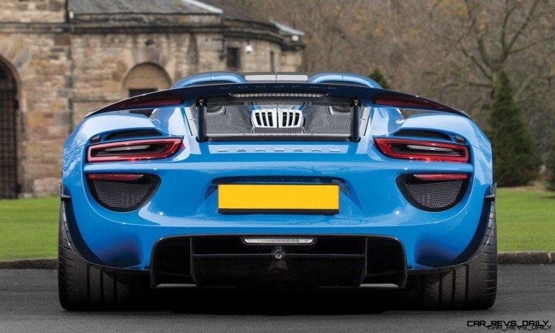 Arrow Blue Porsche 918 Spyder 9