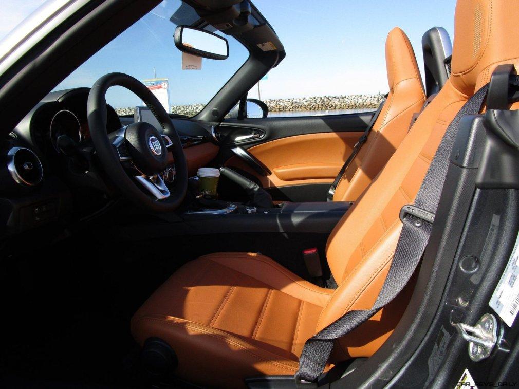 2017 Fiat 124 Spider Lusso INTERIOR 7