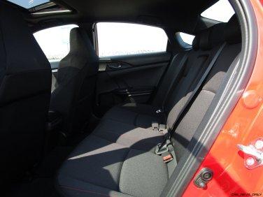 2017 Honda Civic Si Sedan INTERIORS 14