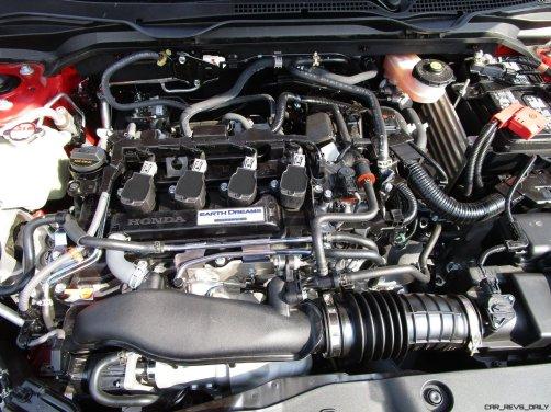 2017 Honda Civic Si Sedan INTERIORS 24