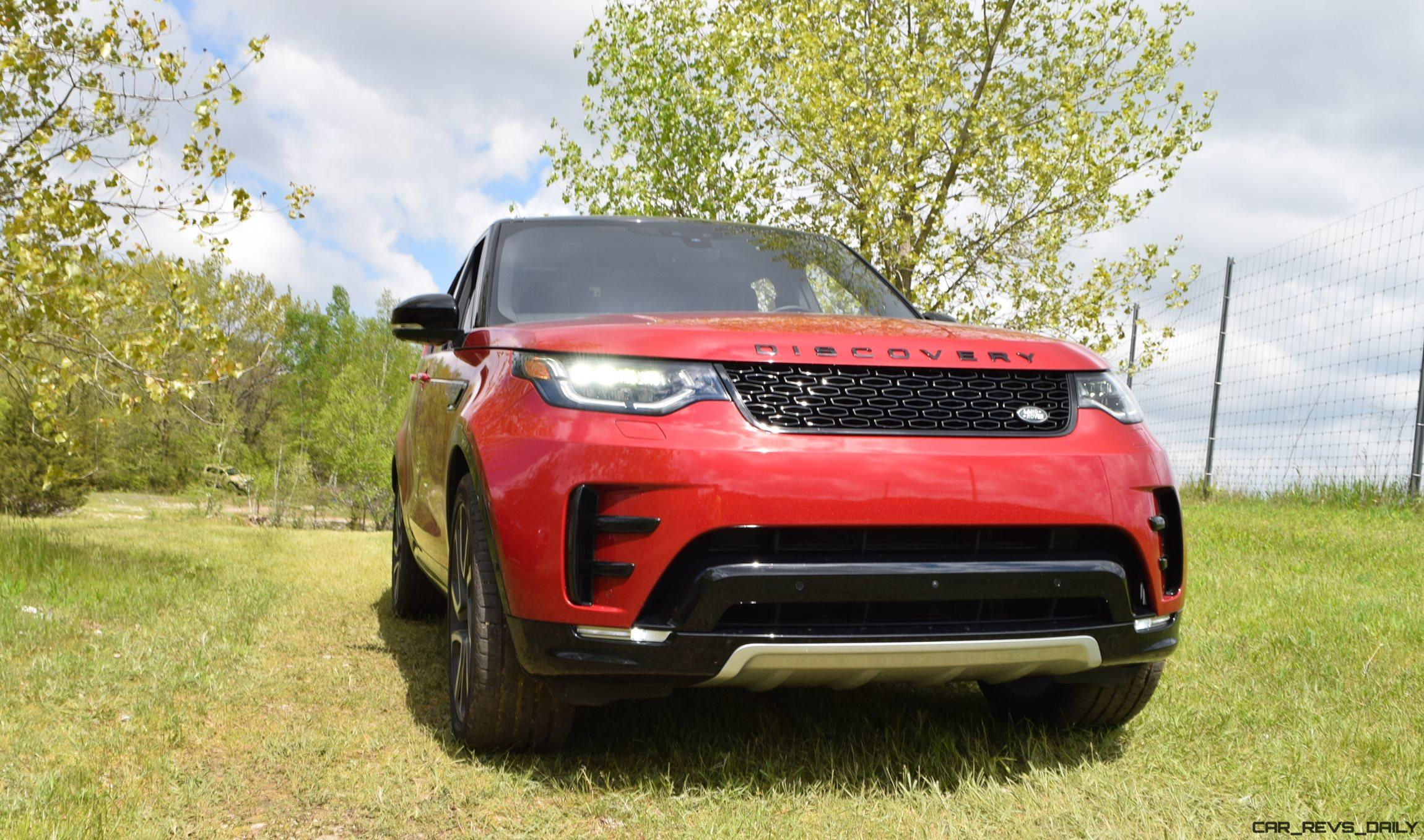 2018 Land Rover DISCOVERY f Road First Drive
