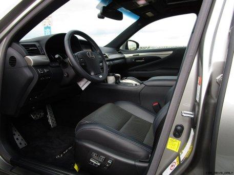 2017 Lexus LS460 F Sport Interiors 20