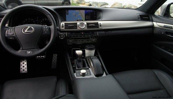2017 Lexus LS460 F Sport Interiors 31