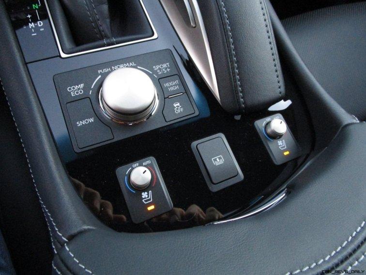 2017 Lexus LS460 F Sport Interiors 4