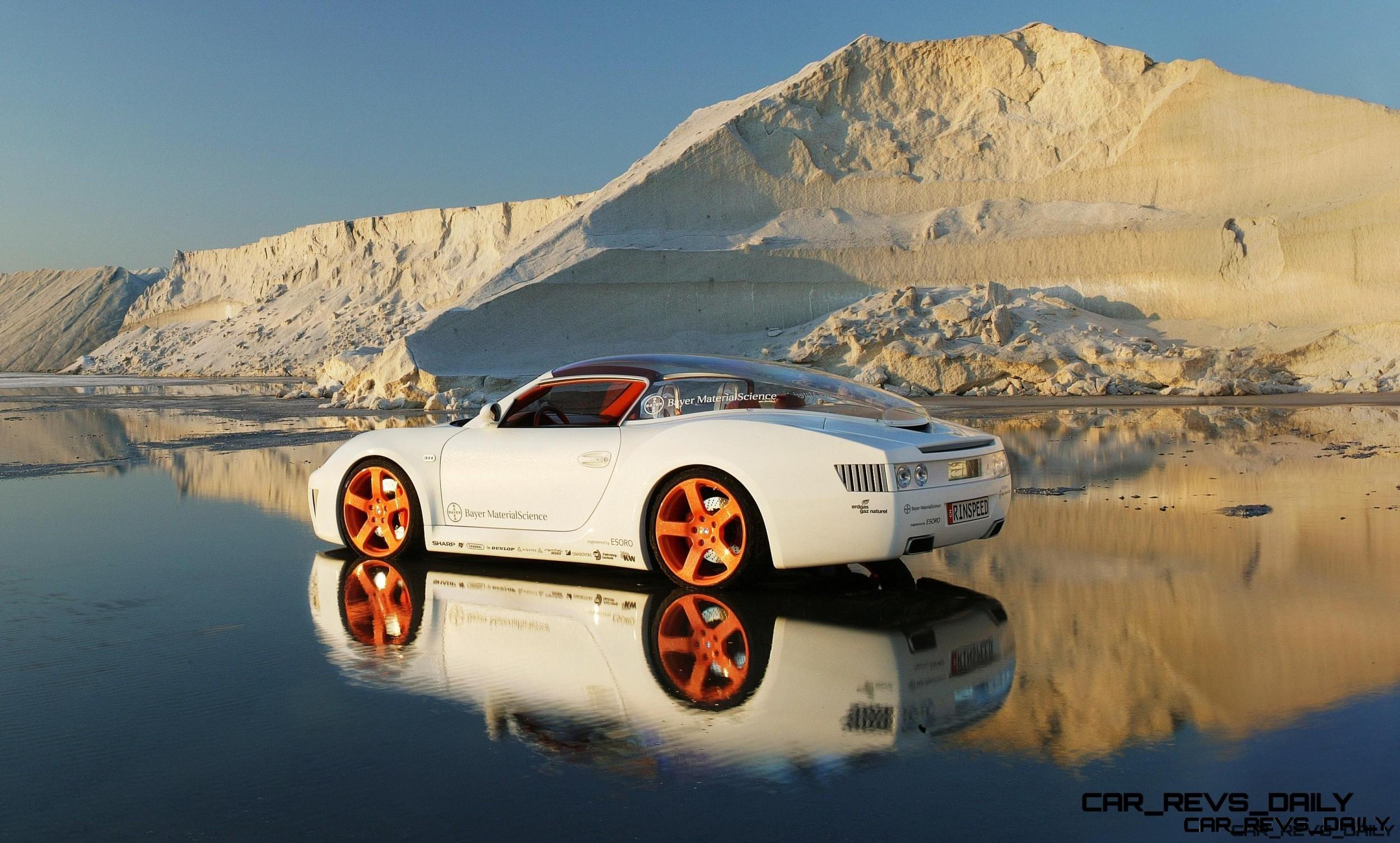 Concept Flashback - 2006 RINSPEED ZaZen is Porsche 911 with Clear Bubble Hardtop 54