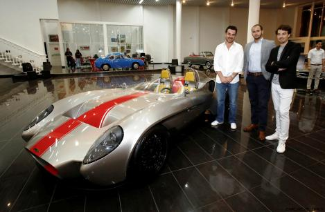 Tomini unveiling F Juillot -A Yacine- A Jannarelly