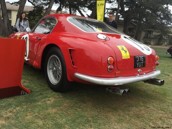 2017 Ferrari 70 Anni Collection at Pebble Beach Concours 116