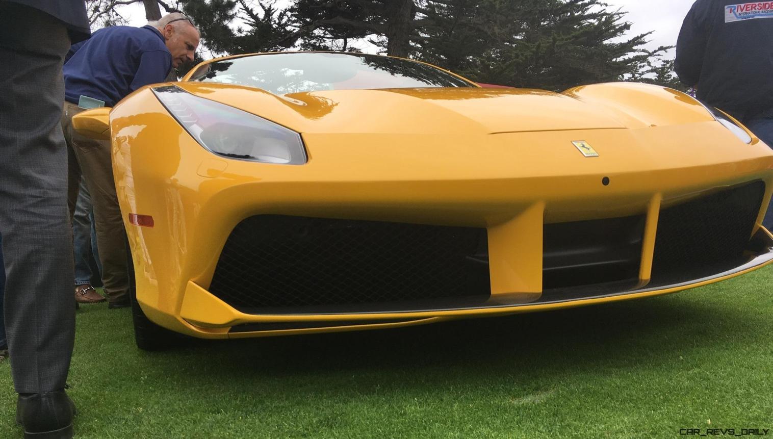 2017 Ferrari 70 Anni Collection at Pebble Beach Concours 13