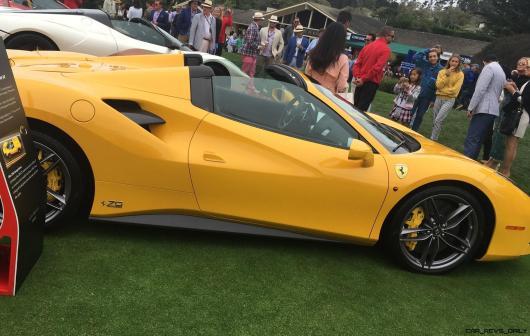2017 Ferrari 70 Anni Collection at Pebble Beach Concours 27