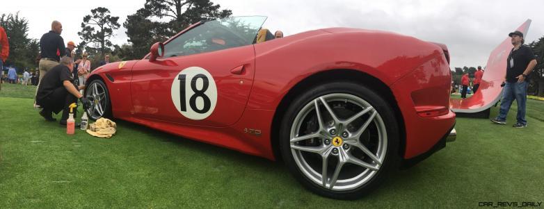 2017 Ferrari 70 Anni Collection at Pebble Beach Concours 3