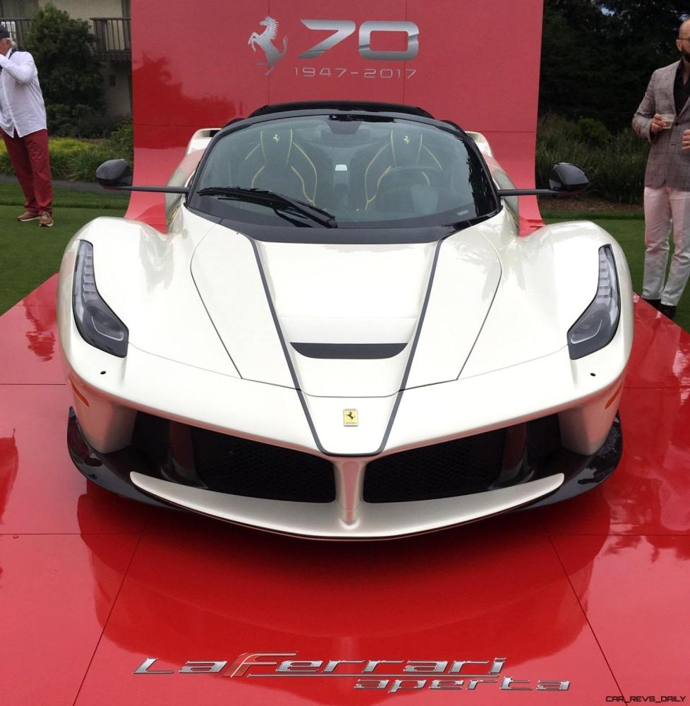 2017 Ferrari 70 Anni Collection at Pebble Beach Concours 5