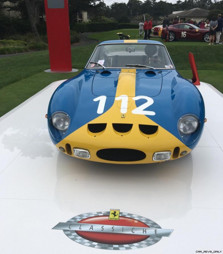 2017 Ferrari 70 Anni Collection at Pebble Beach Concours 52