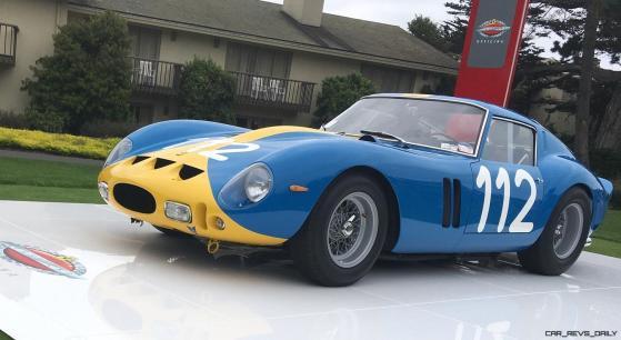 2017 Ferrari 70 Anni Collection at Pebble Beach Concours 57