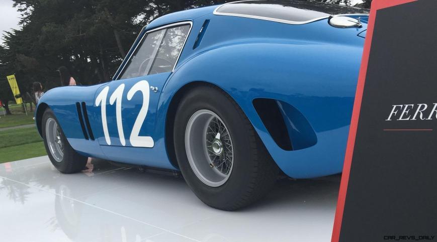 2017 Ferrari 70 Anni Collection at Pebble Beach Concours 62