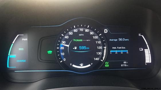 2017 Hyundai Ioniq Hybrid INTERIOR 15