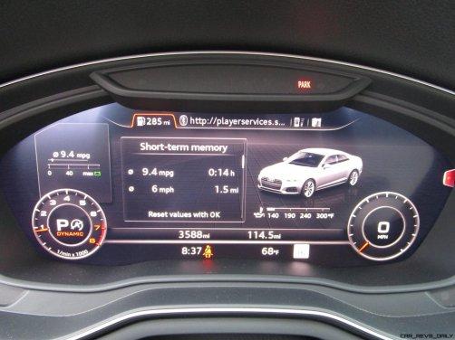 2018 Audi A5 Coupe INTERIORS 9