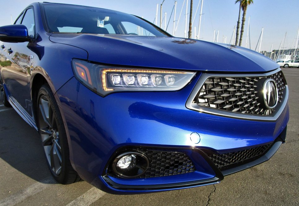 2018 Acura TLX A-Spec V6 SH AWD 5