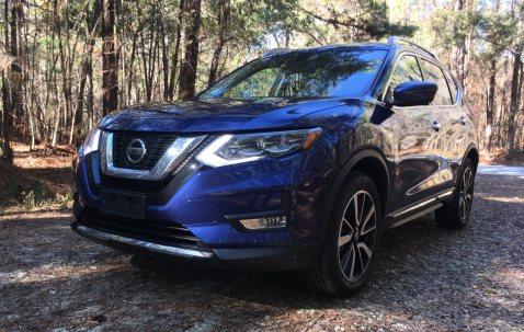 2018 Nissan ROGUE Platinum Reserve 38